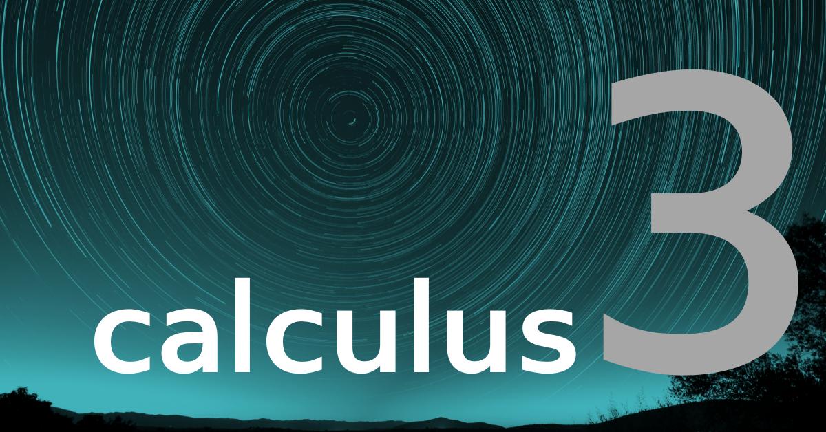 Calculus 3